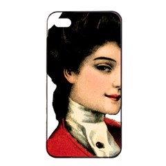 Lady 1032898 1920 Apple Iphone 4/4s Seamless Case (black)
