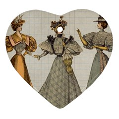 Vintage 1480642 1920 Heart Ornament (two Sides)