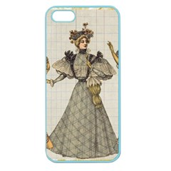 Vintage 1480642 1920 Apple Seamless Iphone 5 Case (color)