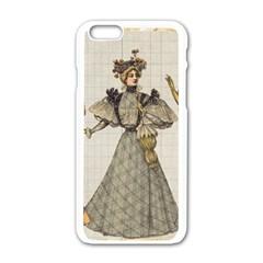 Vintage 1480642 1920 Apple Iphone 6/6s White Enamel Case