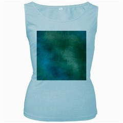 Background 1724652 1920 Women s Baby Blue Tank Top