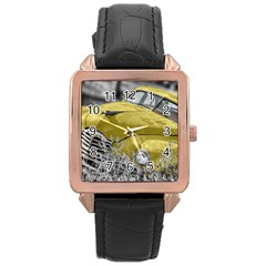 Oldtimer 168127 1920 Rose Gold Leather Watch