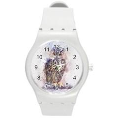 Bird 2552769 1920 Round Plastic Sport Watch (m)