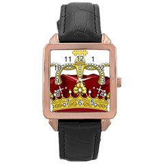 Crown 2024678 1280 Rose Gold Leather Watch