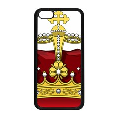 Crown 2024678 1280 Apple Iphone 5c Seamless Case (black)