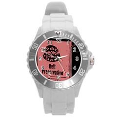 Bottle 1954414 1280 Round Plastic Sport Watch (l)
