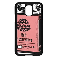Bottle 1954414 1280 Samsung Galaxy S5 Case (black)