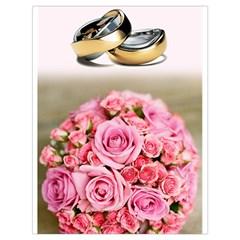 Wedding Rings 251290 1920 Drawstring Bag (large)