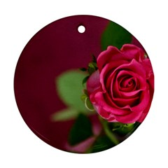 Rose 693152 1920 Round Ornament (two Sides)