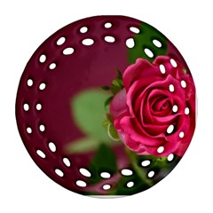 Rose 693152 1920 Round Filigree Ornament (two Sides)