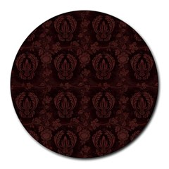 Leather 1568432 1920 Round Mousepads