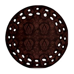 Leather 1568432 1920 Round Filigree Ornament (two Sides)