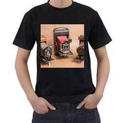 Camera 1149767 1920 Men s T Shirt (black) (two Sided)