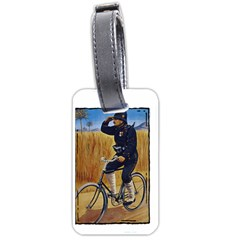 Policeman 1763380 1280 Luggage Tags (one Side)