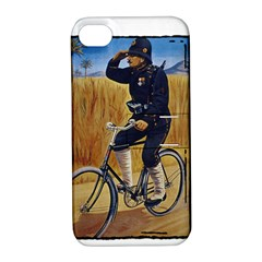 Policeman 1763380 1280 Apple Iphone 4/4s Hardshell Case With Stand