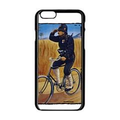 Policeman 1763380 1280 Apple Iphone 6/6s Black Enamel Case