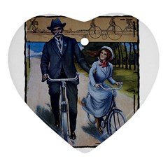 Bicycle 1763283 1280 Heart Ornament (two Sides)