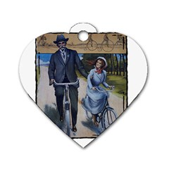 Bicycle 1763283 1280 Dog Tag Heart (one Side)