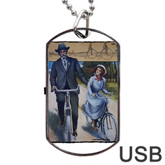 Bicycle 1763283 1280 Dog Tag Usb Flash (one Side)