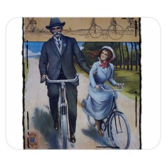 Bicycle 1763283 1280 Double Sided Flano Blanket (small)