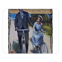 Bicycle 1763283 1280 Double Sided Flano Blanket (large)