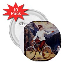 Bicycle 1763235 1280 2 25  Buttons (10 Pack)