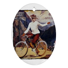 Bicycle 1763235 1280 Oval Ornament (two Sides)