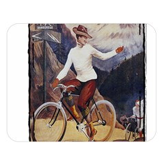 Bicycle 1763235 1280 Double Sided Flano Blanket (large)