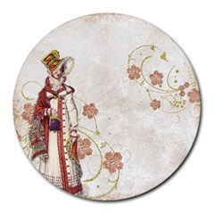 Background 1775358 1920 Round Mousepads