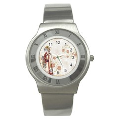 Background 1775358 1920 Stainless Steel Watch