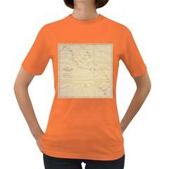 Map Women s Dark T Shirt