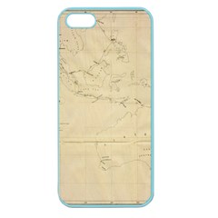 Map Apple Seamless Iphone 5 Case (color)