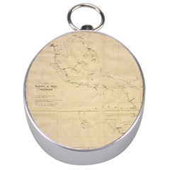 Map Silver Compasses