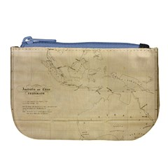 Map Large Coin Purse