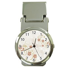 Floral Money Clip Watches