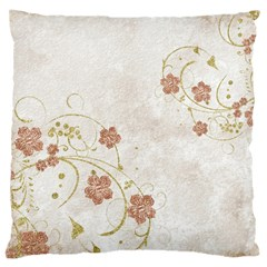 Floral Large Cushion Case (one Side)