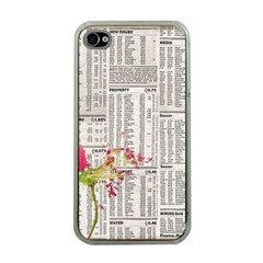 Background 1770129 1920 Apple Iphone 4 Case (clear)