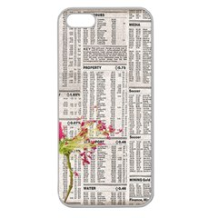 Background 1770129 1920 Apple Seamless Iphone 5 Case (clear)
