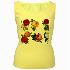 Roses 1770165 1920 Women s Yellow Tank Top