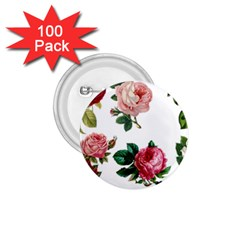 Roses 1770165 1920 1 75  Buttons (100 Pack)