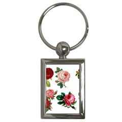 Roses 1770165 1920 Key Chains (rectangle)