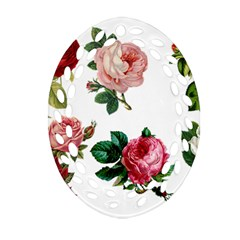 Roses 1770165 1920 Oval Filigree Ornament (two Sides)