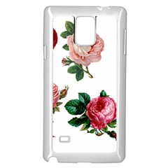 Roses 1770165 1920 Samsung Galaxy Note 4 Case (white)