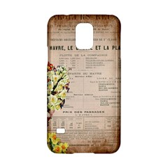 Letter Floral Samsung Galaxy S5 Hardshell Case