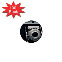 Photo Camera 1  Mini Buttons (100 Pack)