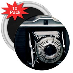 Photo Camera 3  Magnets (10 Pack)