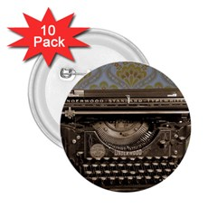 Typewriter 2 25  Buttons (10 Pack)