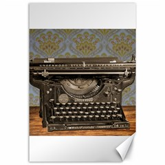 Typewriter Canvas 24  X 36