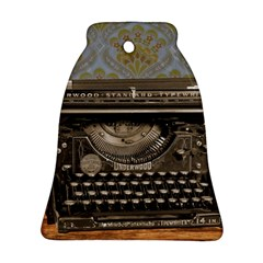 Typewriter Bell Ornament (two Sides)