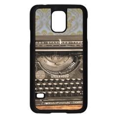 Typewriter Samsung Galaxy S5 Case (black)